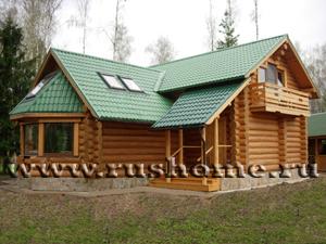 С бассейном деревянные дома проекты