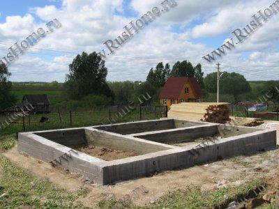 Lentochnyi fundament 400x700mm